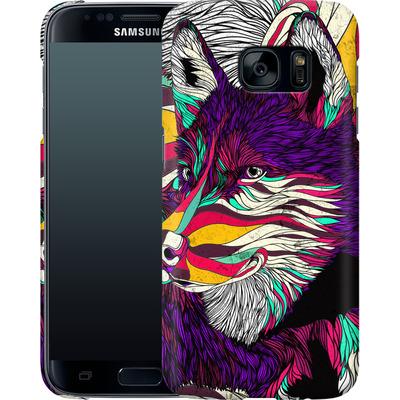 Samsung Galaxy S7 Smartphone Huelle - Color Husky von Danny Ivan