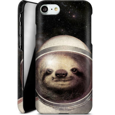 Apple iPhone 7 Smartphone Huelle - Space Sloth von Eric Fan