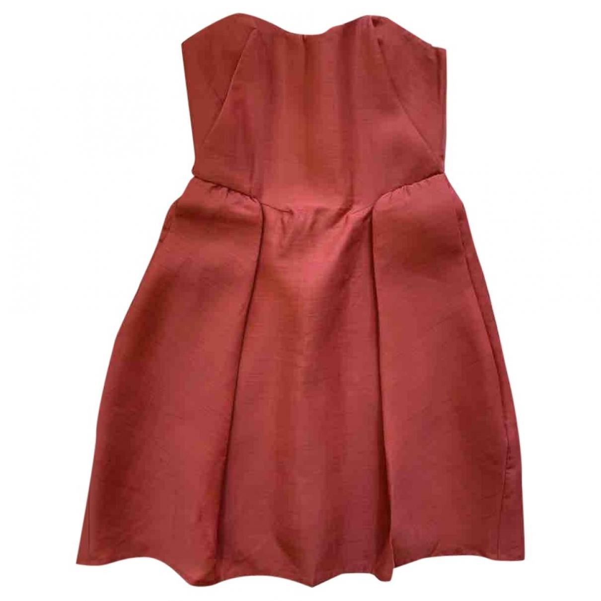 Carven \N Kleid in  Rot Wolle
