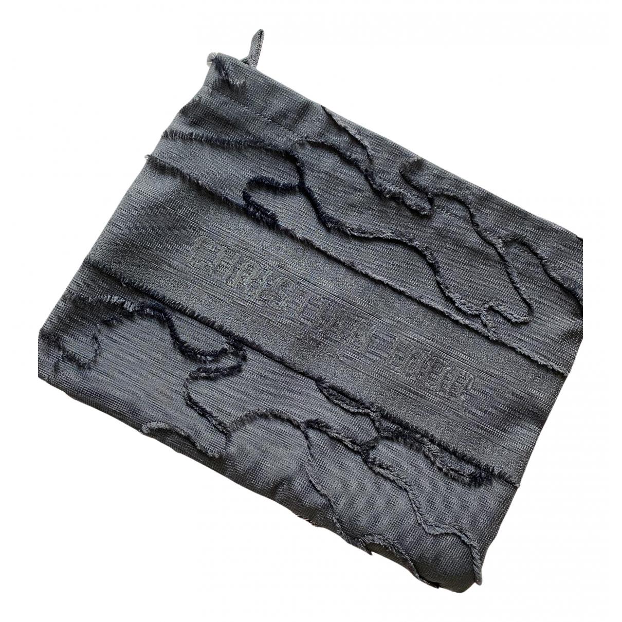 Dior - Petite maroquinerie   pour femme en toile - noir