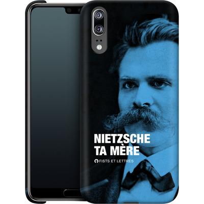 Huawei P20 Smartphone Huelle - Nietzsche Ta Mere von Fists Et Lettres