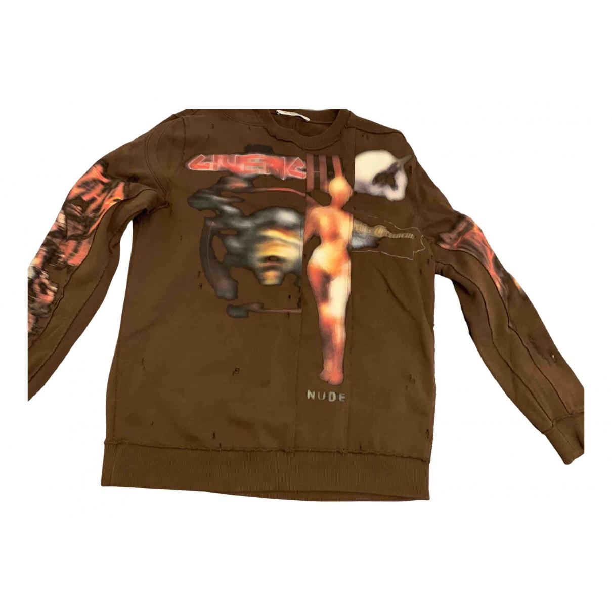 Givenchy - Pulls.Gilets.Sweats   pour homme en coton - marron