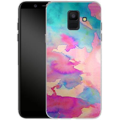 Samsung Galaxy A6 Silikon Handyhuelle - Dawn Light von Amy Sia