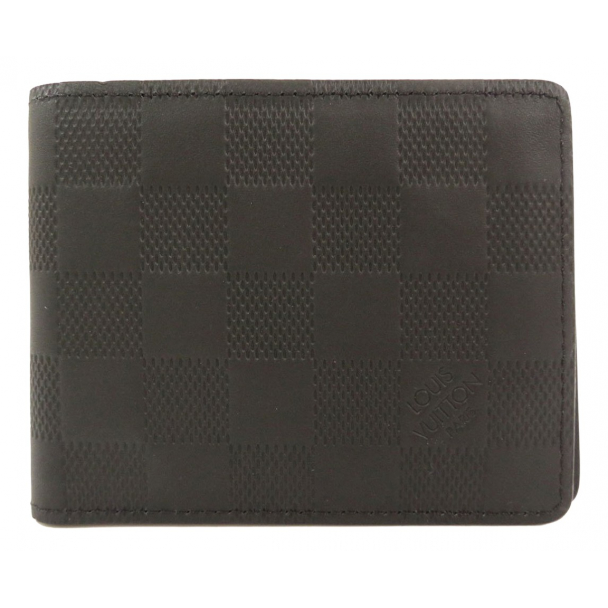 Louis Vuitton \N Black Cloth Small bag, wallet & cases for Men \N