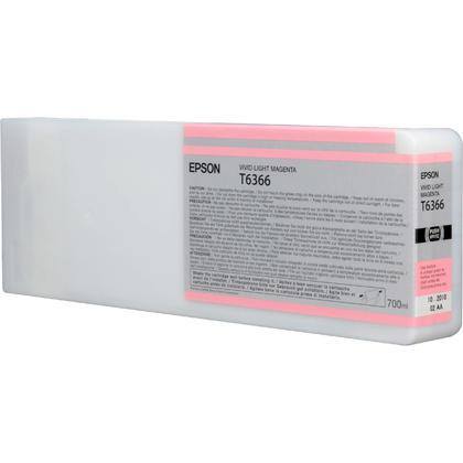 Epson T636600 700ml Original Light Magenta Ink Cartridge High Yield