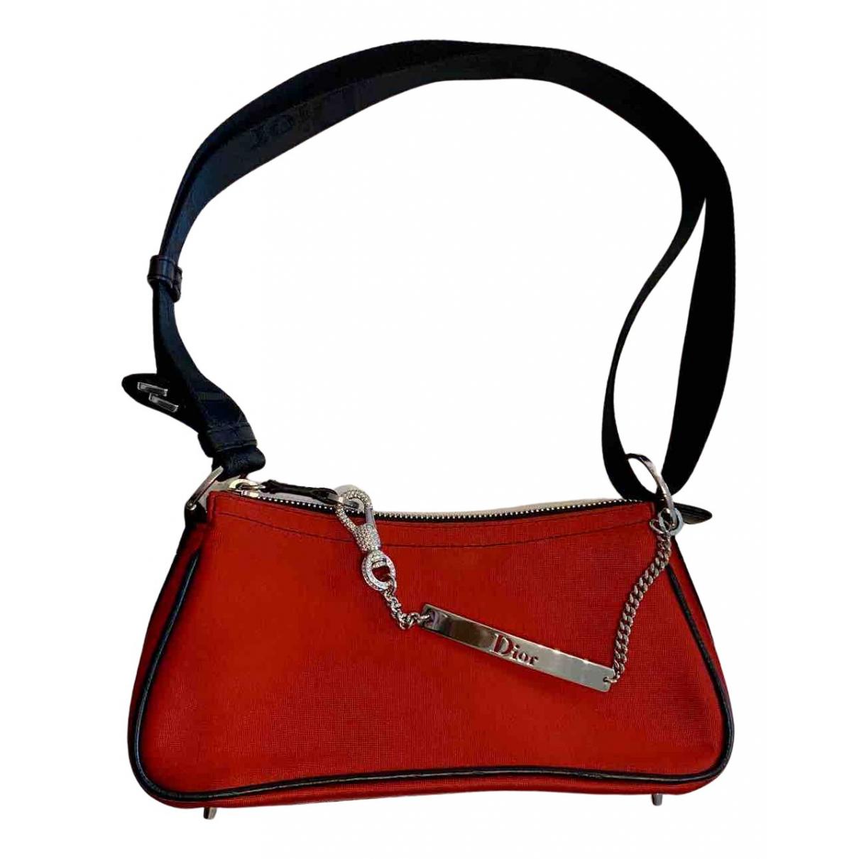 Dior - Sac a main Hardcore pour femme en toile - rouge