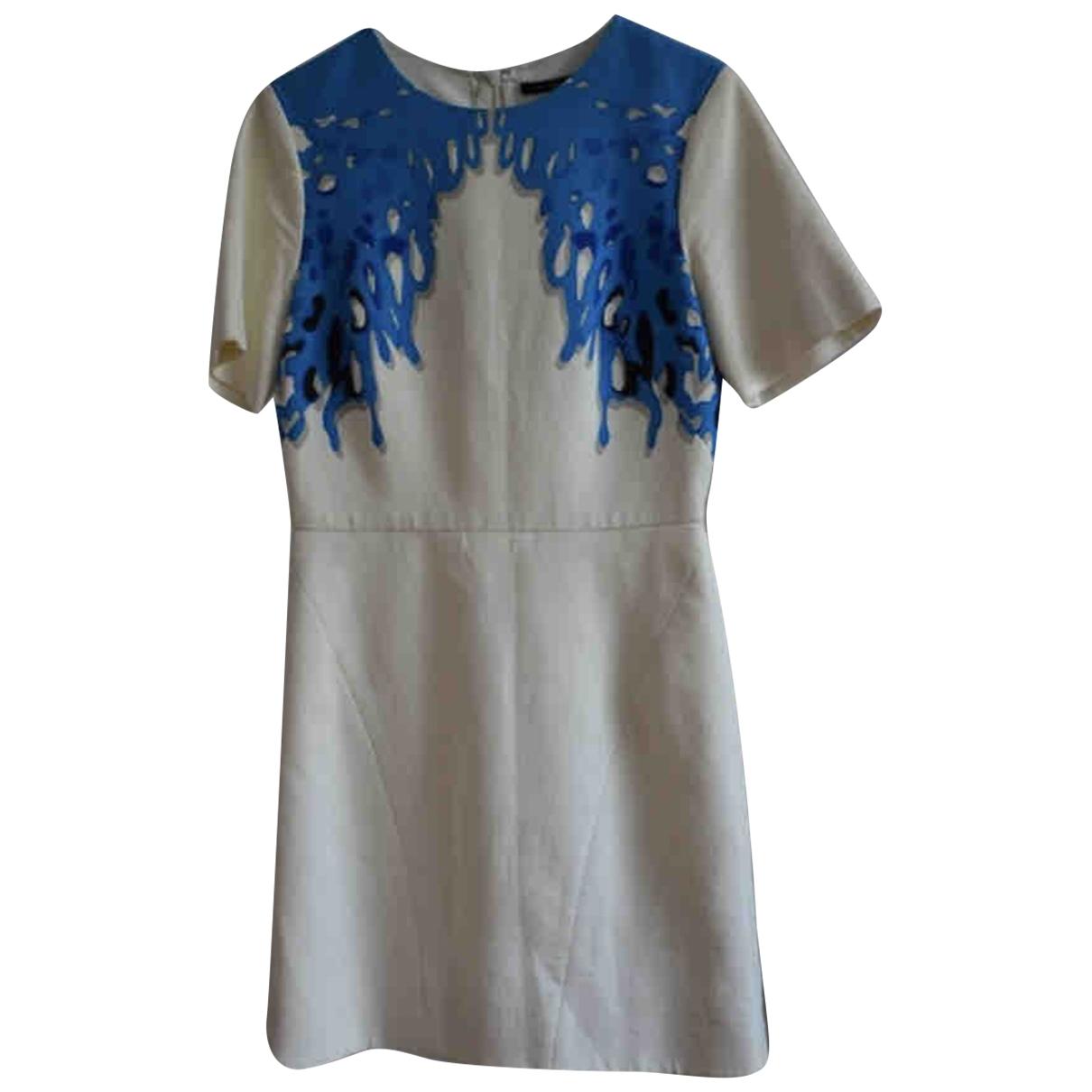 Tibi - Robe   pour femme en coton - blanc