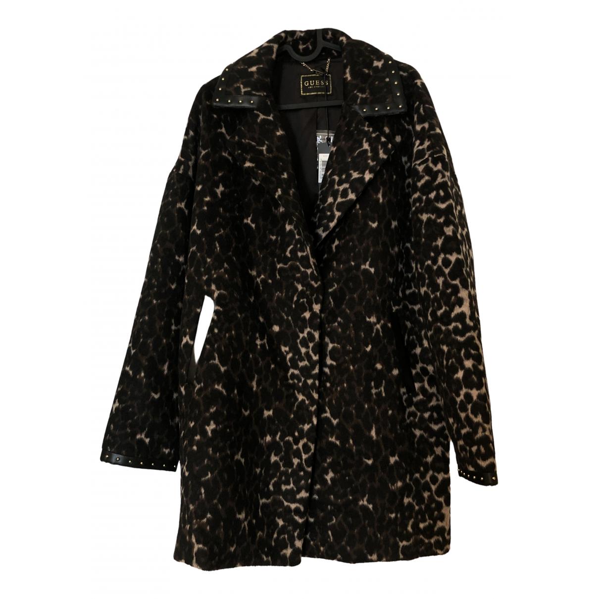 Guess - Manteau   pour femme en laine