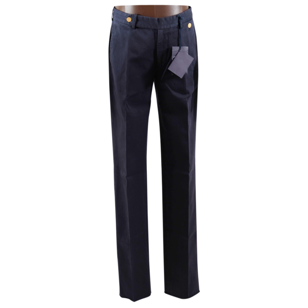 Prada N Cotton Trousers for Men XS International