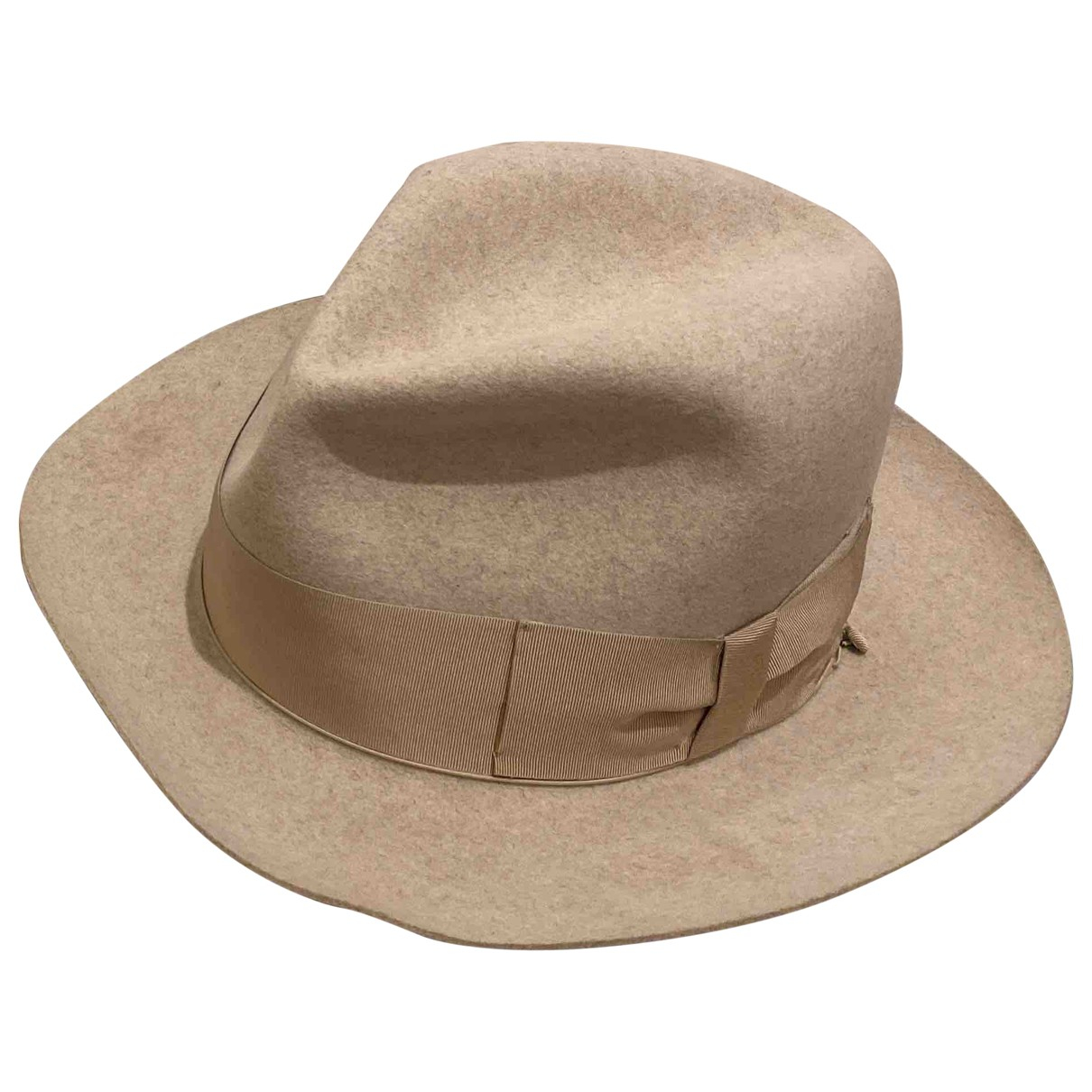 Borsalino N Beige Rabbit hat for Women 57 cm