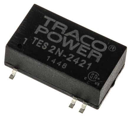 TRACOPOWER TES 2N 2W Isolated DC-DC Converter Surface Mount, Voltage in 18 → 36 V dc, Voltage out ±5V dc