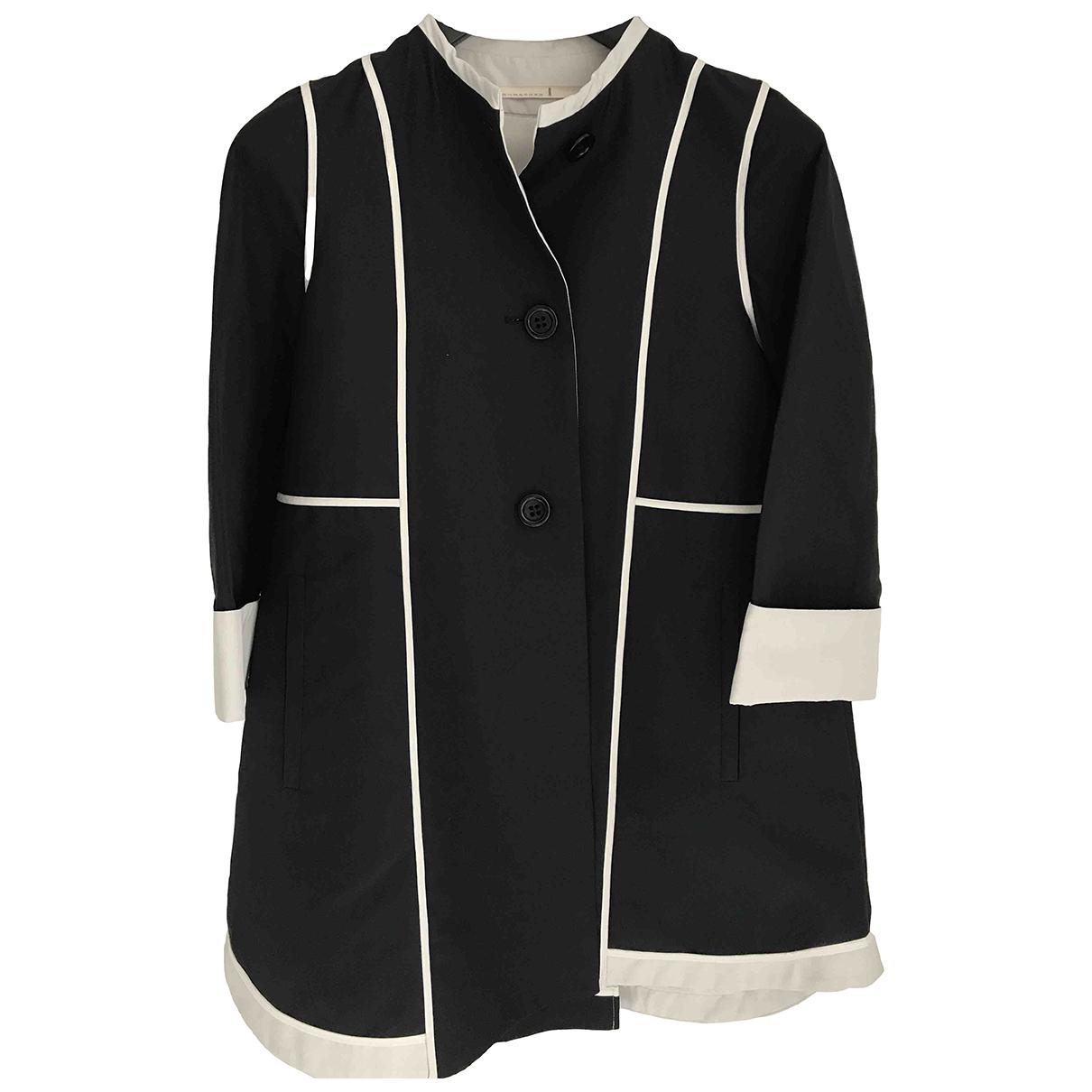 Schumacher N Navy Cotton coat for Women 1 US
