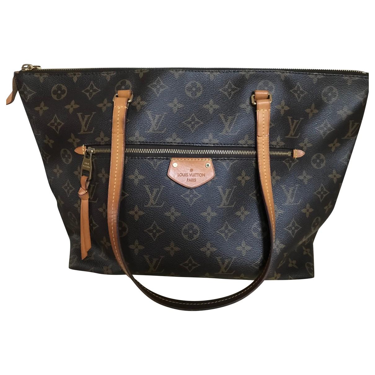 Louis Vuitton - Sac a main Iena pour femme en toile - marron