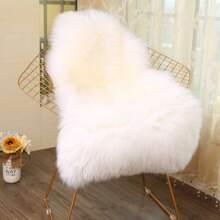 1pc Plain Faux Fur Carpet
