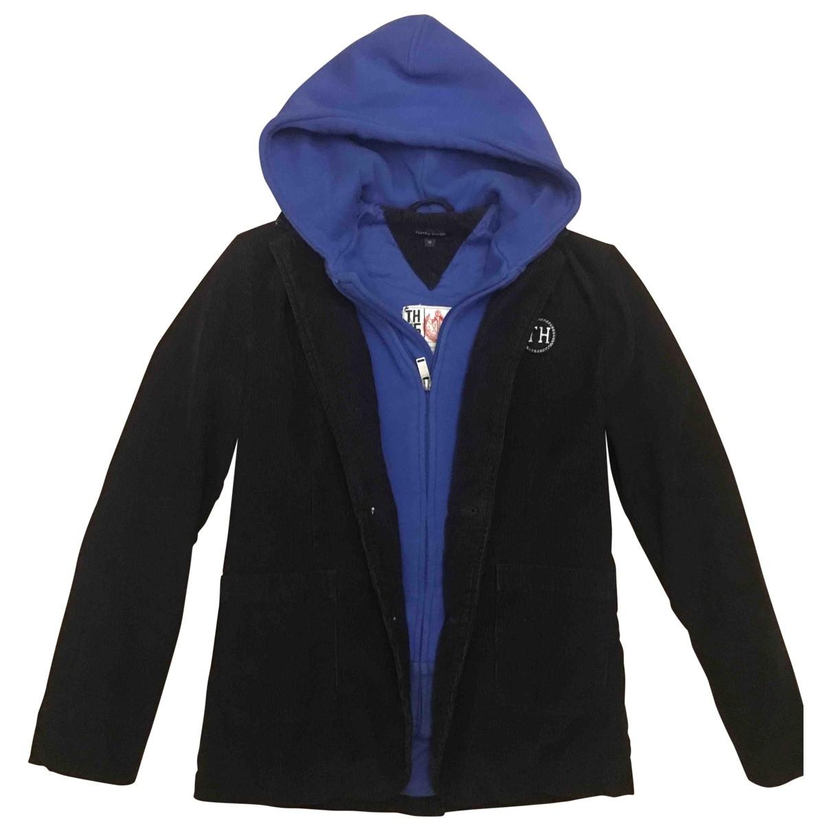 Tommy Hilfiger \N Blue Velvet jacket & coat for Kids 12 years - XS FR