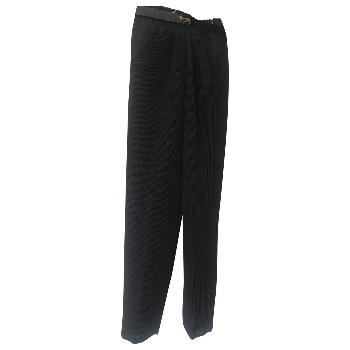 Forte_forte \N Black Trousers for Women 3 0-5