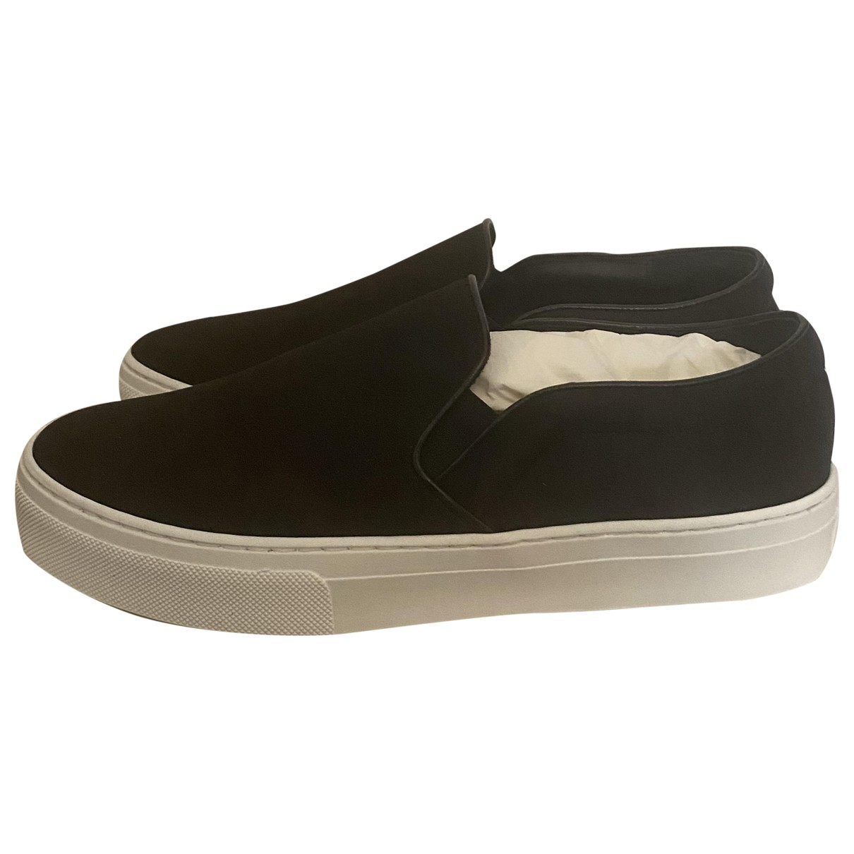 Celine Pull On  Black Cloth Trainers for Women 39 EU