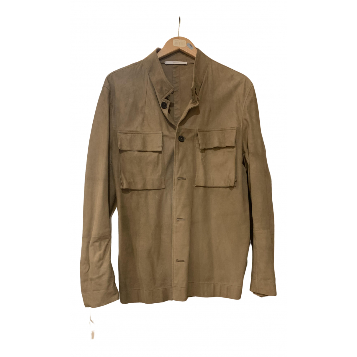 Yves Saint Laurent \N Beige Suede jacket  for Men 50 IT