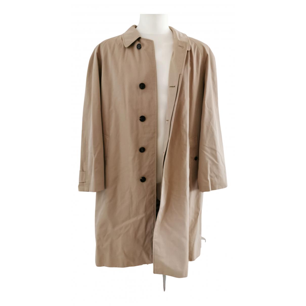 Burberry - Manteau   pour homme en toile - beige