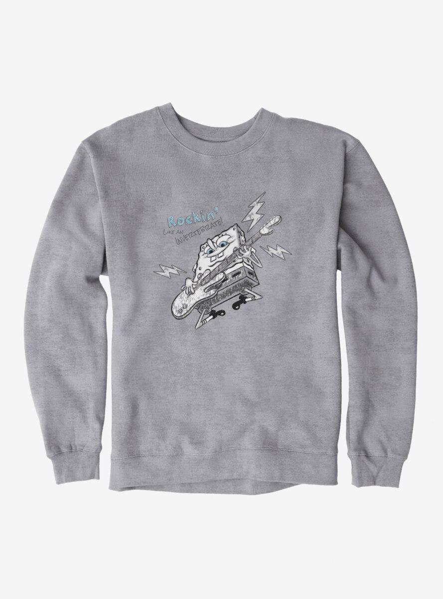 SpongeBob SquarePants Rockin' Electric Guitar Sweatshirt