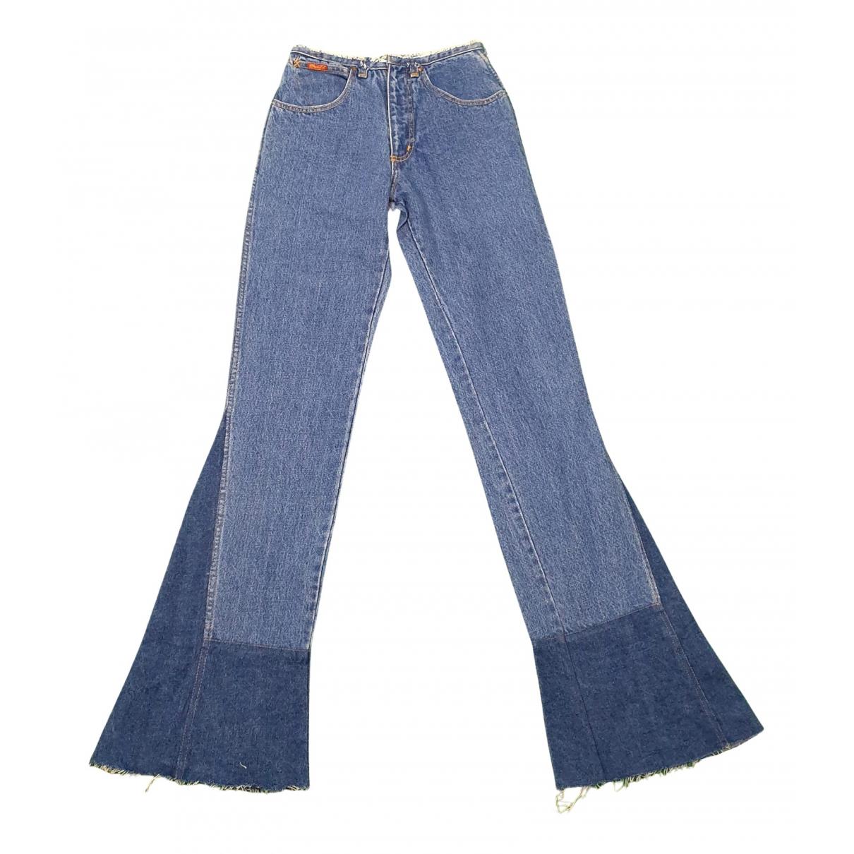 Wrangler N Turquoise Denim - Jeans Jeans for Women 26 US