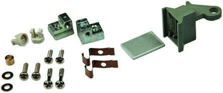 nVent Schroff Plug-in Unit, 3U, 10HP, Height 128.4mm, Green