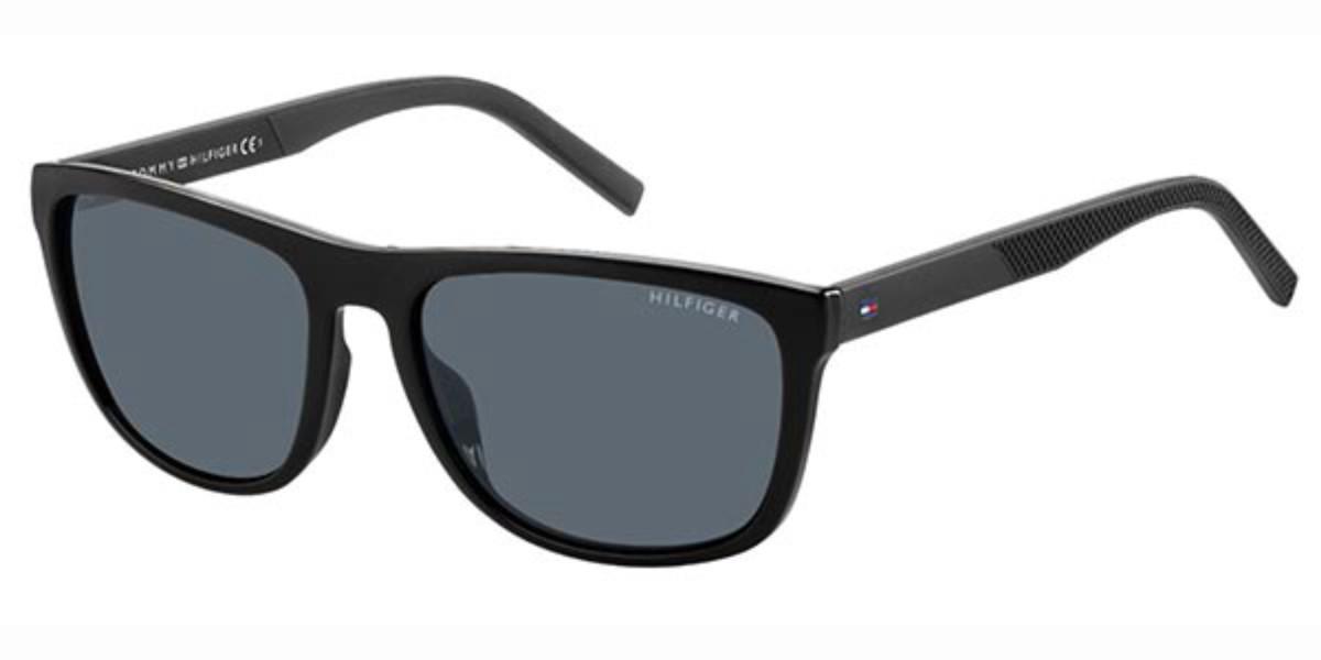 Tommy Hilfiger TH 1602/G/S 08A/IR Men's Sunglasses Black Size 58