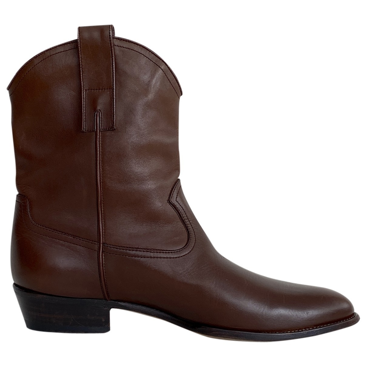 Gucci \N Brown Leather Boots for Men 42 IT