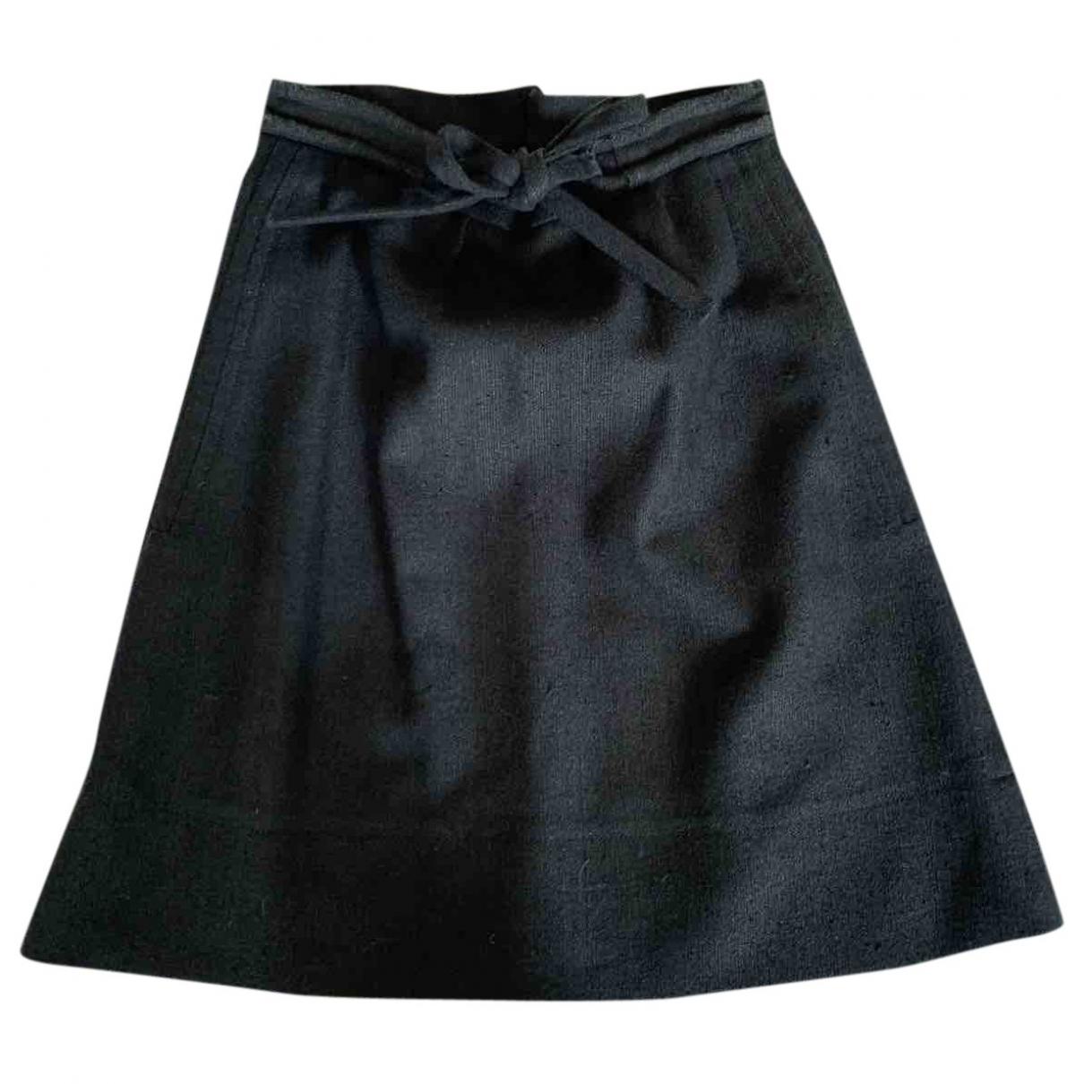 Chloe - Jupe   pour femme en soie - gris