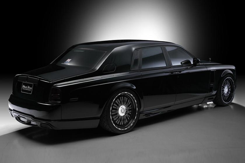 Wald USA RRP.BB.TL.03 Black Bison Edition Trunk Lip Royce Phantom Series I 03-12