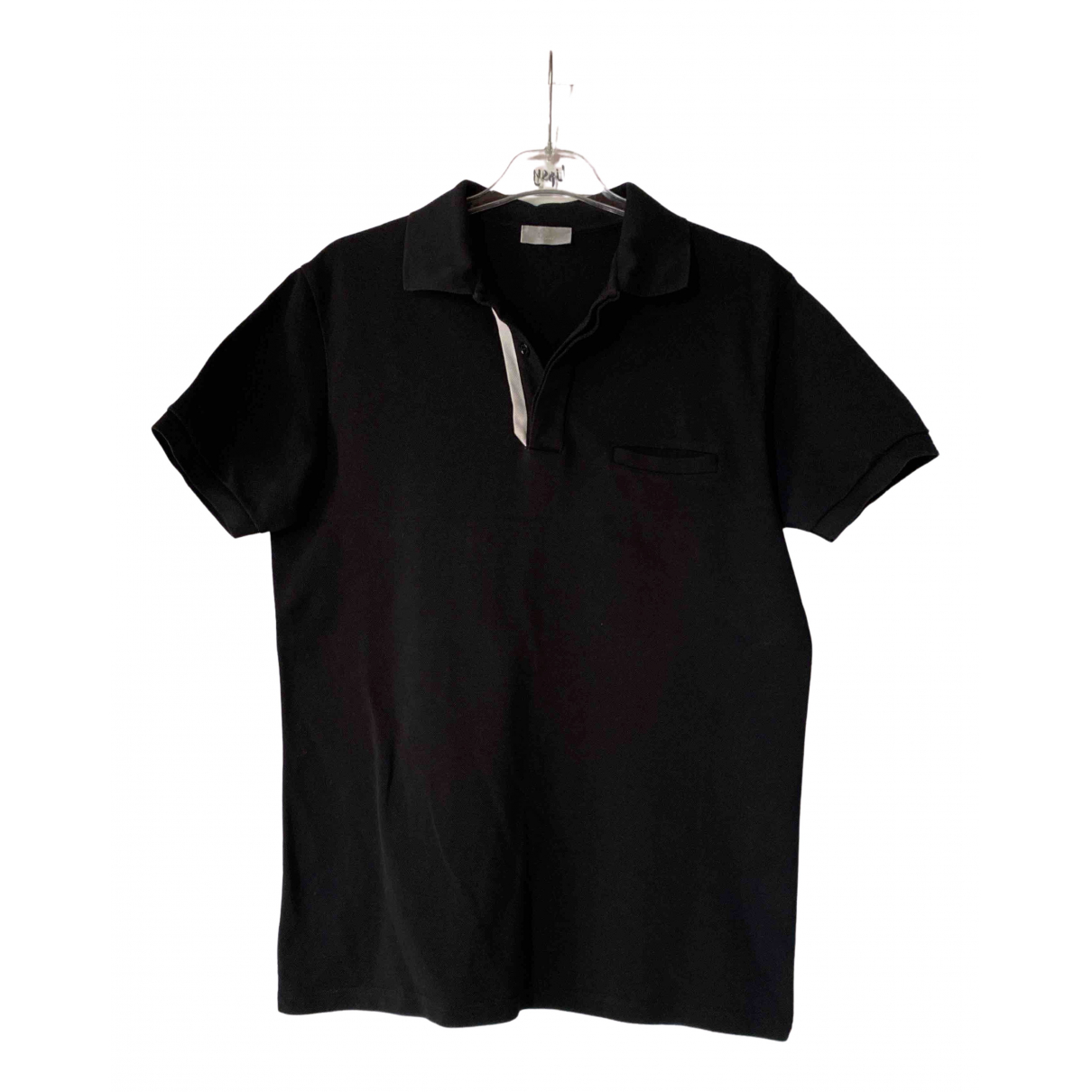 Dior Homme \N Black Cotton Polo shirts for Men M International