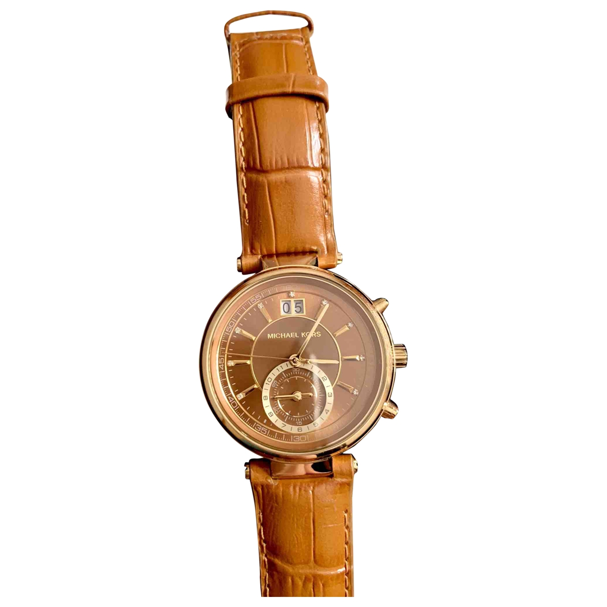 Michael Kors \N Brown Steel watch for Women \N
