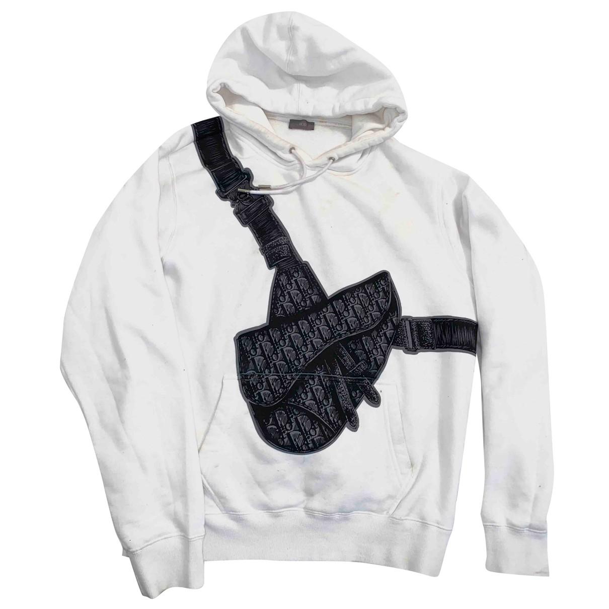 Dior N White Cotton Knitwear & Sweatshirts for Men M International