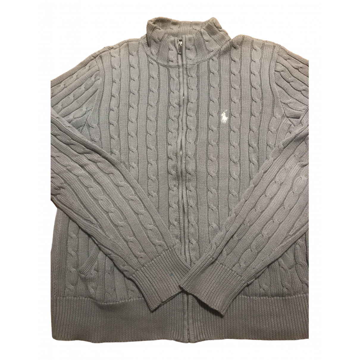 Non Signé / Unsigned N Grey Cotton jacket for Women XL International