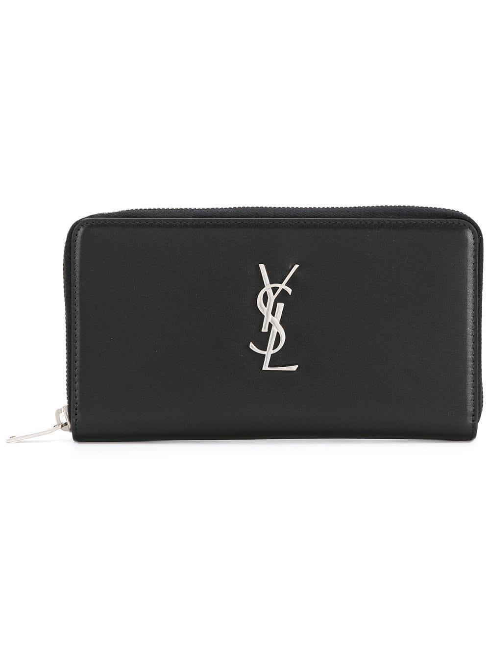 Monogram Leather Wallet