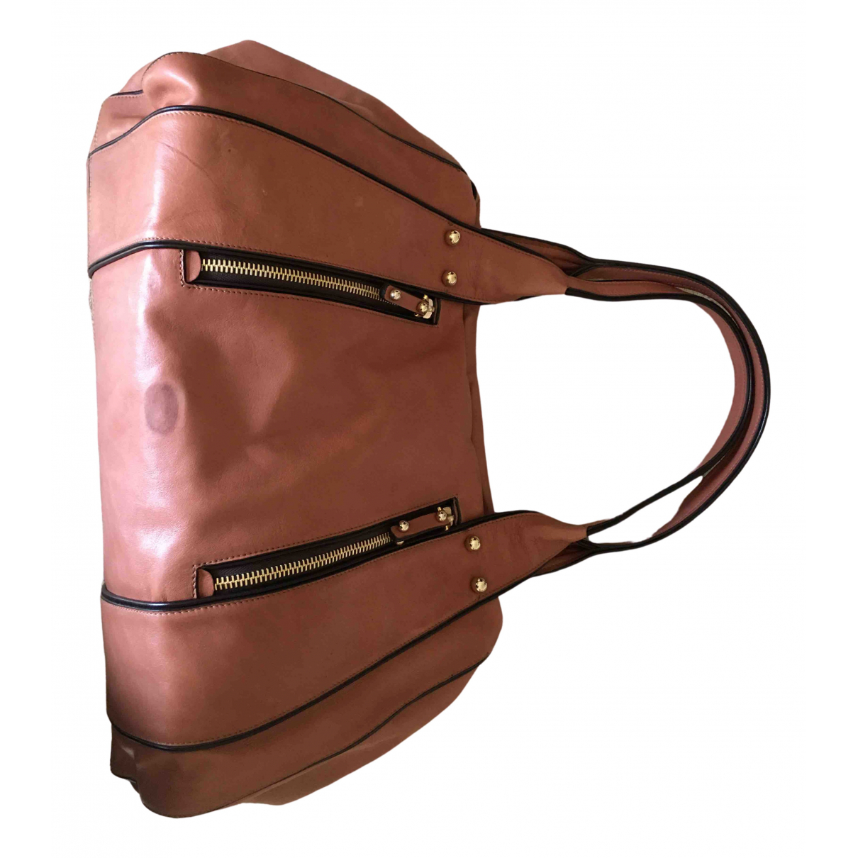 Missoni \N Camel Leather handbag for Women \N