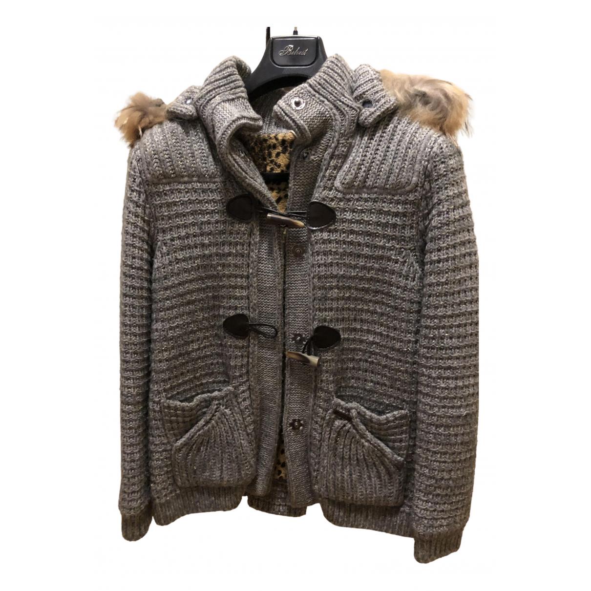 Bark \N Grey Wool jacket for Women M International