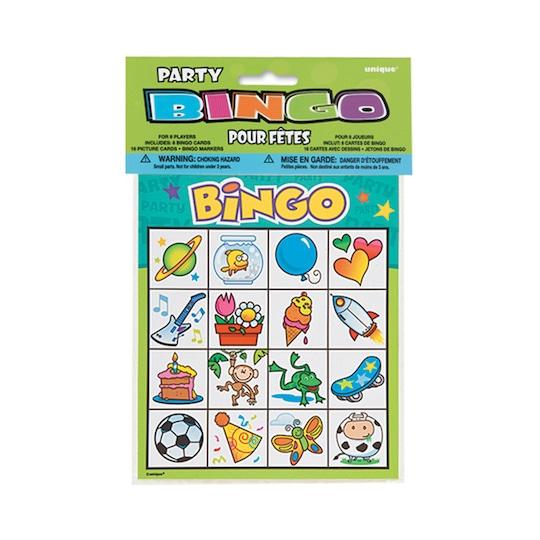 Kids Party Bingo For 8 By Unique   Michaels®