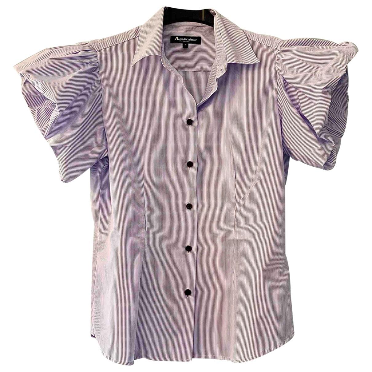 Aquascutum \N Multicolour Cotton  top for Women M International