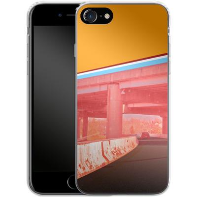 Apple iPhone 7 Silikon Handyhuelle - Bridge von Brent Williams