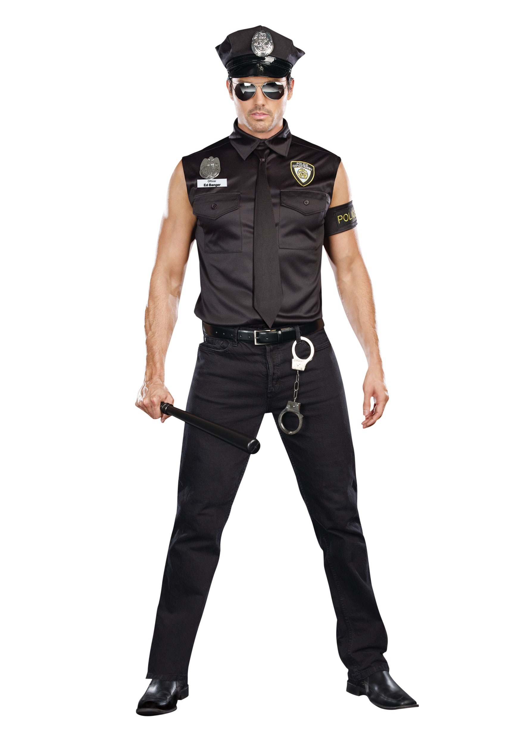 Sexy Cop Mens Costume | Sexy Police Officer Costume