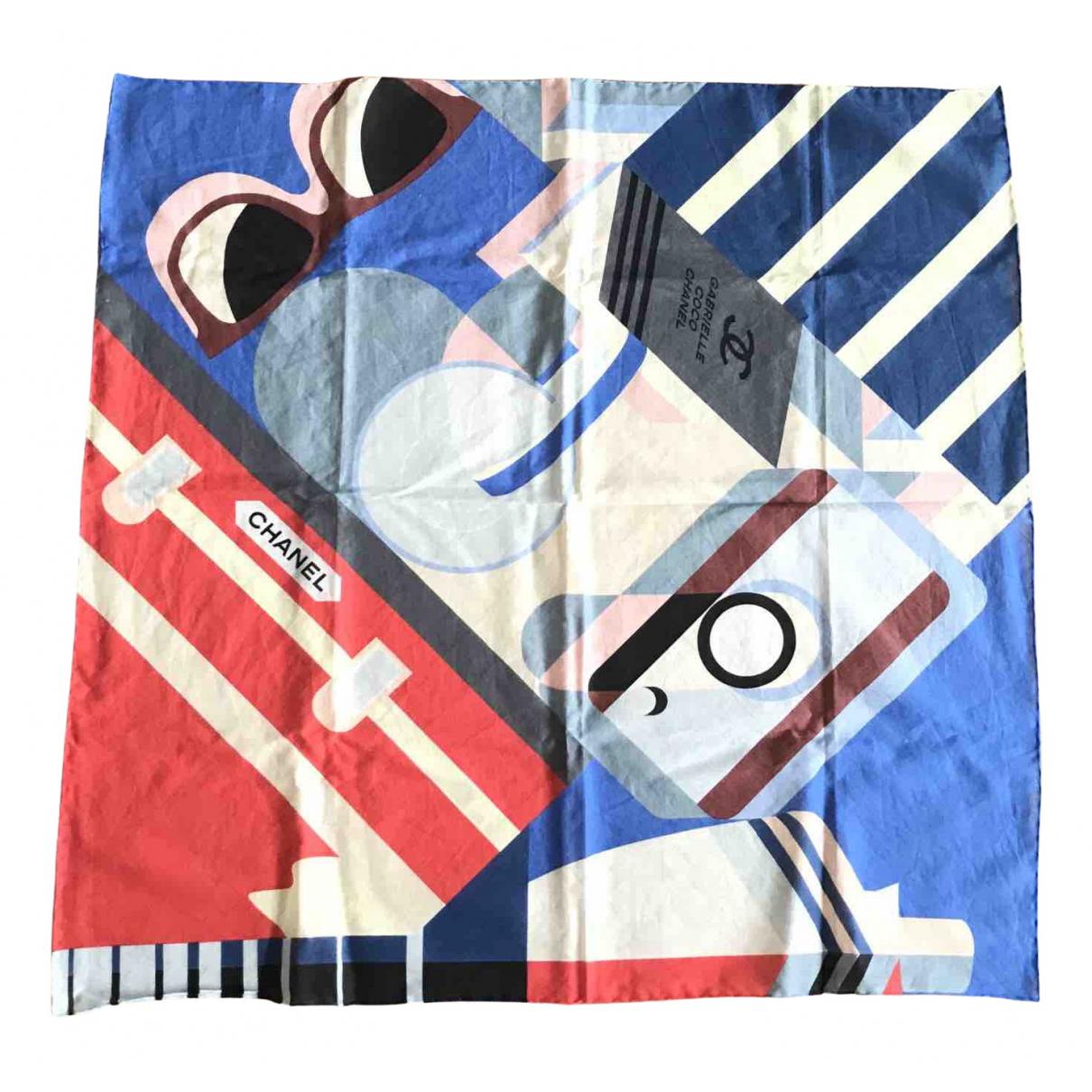Chanel N Multicolour Cotton scarf for Women N