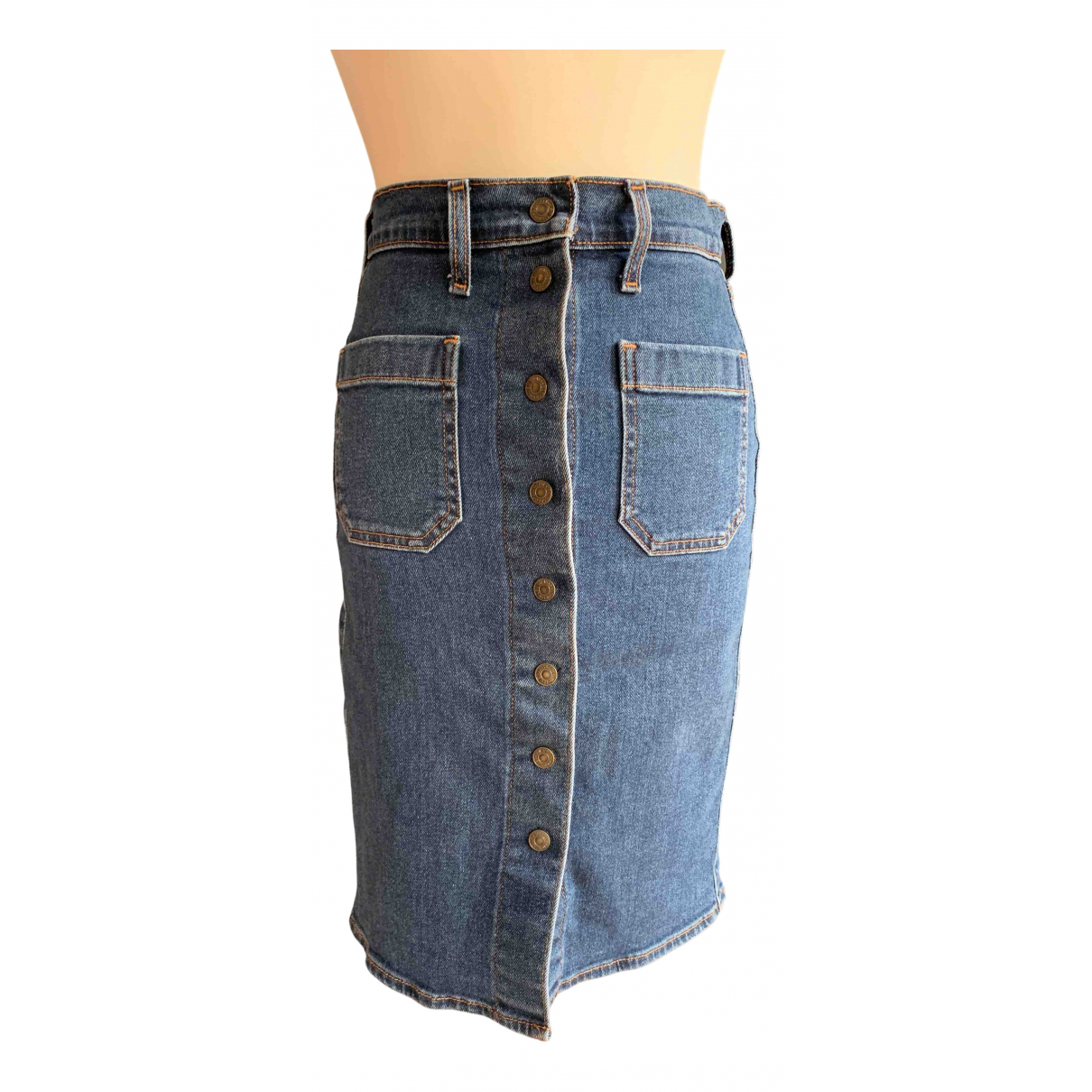 Levi's N Blue Denim - Jeans skirt for Women 32 FR
