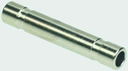 Legris Tube-to-Tube 3120 Pneumatic Straight Tube-to-Tube Adapter, Plug In 8 mm to Plug In 8 mm (5)