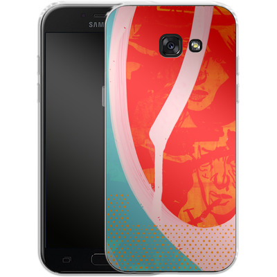 Samsung Galaxy A5 (2017) Silikon Handyhuelle - Saturated Wall von Brent Williams