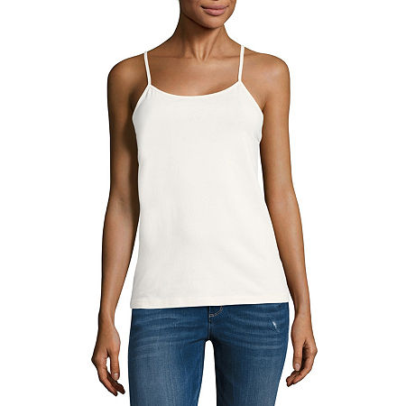 a.n.a Womens Scoop Neck Camisole, Xx-large , White