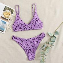 Bañador bikini de canale con estampado