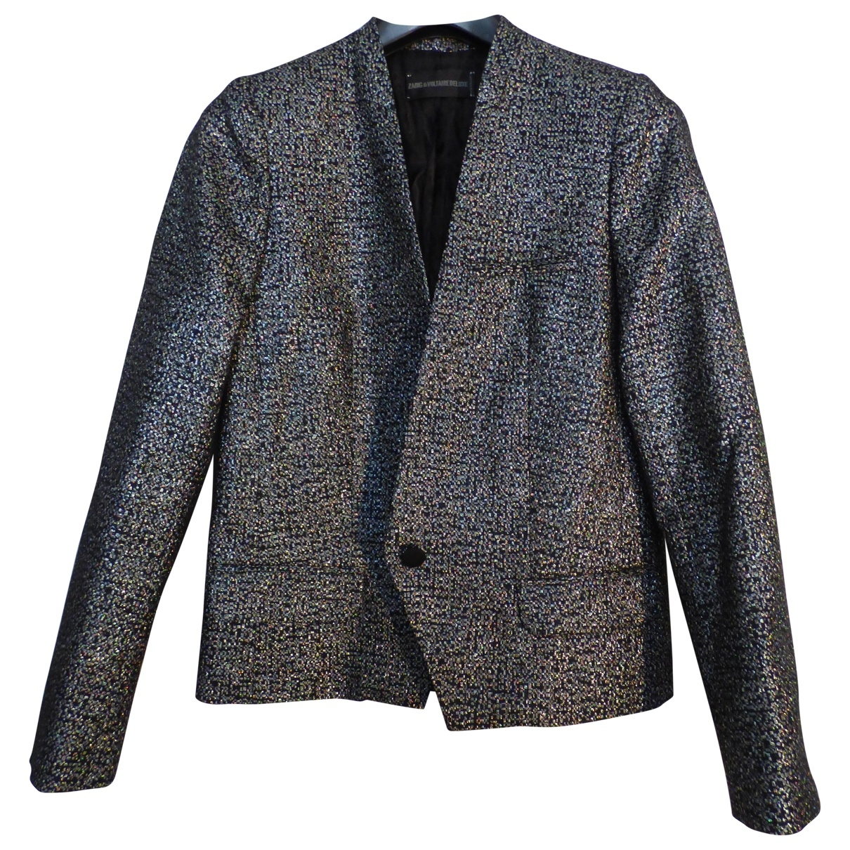 Zadig & Voltaire \N Silver Glitter jacket for Women 36 FR
