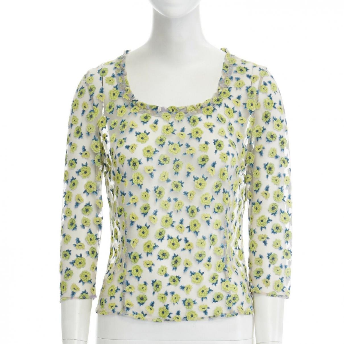 Versace \N Top in  Gruen Polyester