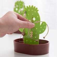 1 Stueck Kaktus formiges Regal fuer Schmuck